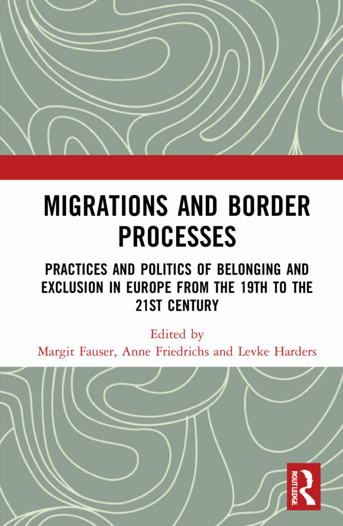 Book cover Migrations and Border Processes